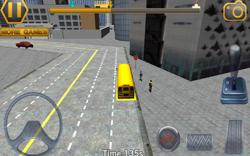 Schoolbus Driving 3D Simulator- screenshot thumbnail