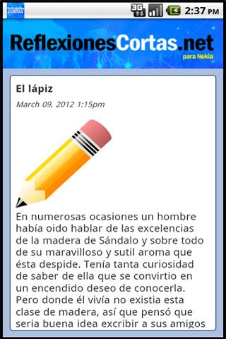 Reflexiones Cortas - screenshot