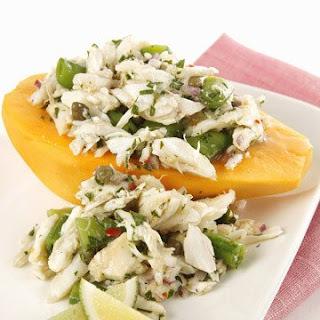 Golden Papaya and Crab Salad.