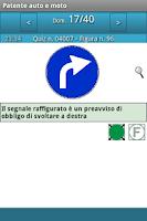 Screenshot of Patente auto e moto
