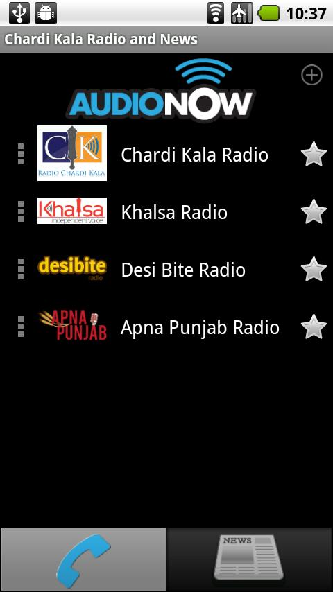 Chardi Kala Radio & News - screenshot