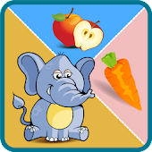 Kids Fruits Vegetables Animals