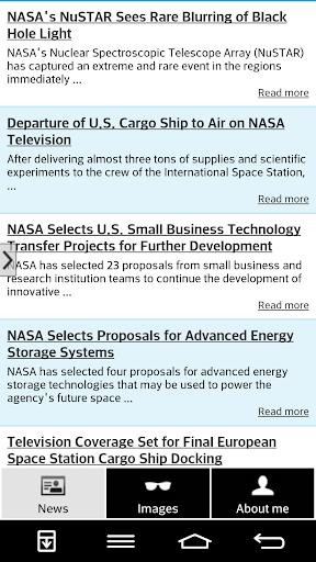 NASA Breaking News Images