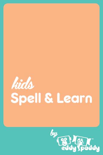 Kids Spell Learn Body Parts