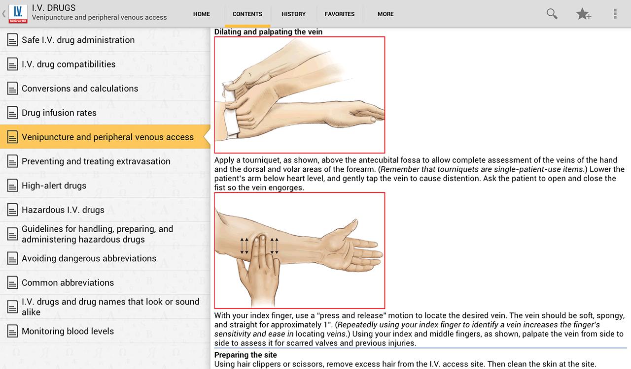 I.V. Drug Handbook- screenshot