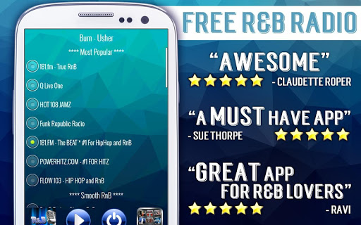 Free RnB Radio 3.3 screenshots 1