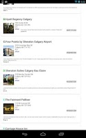 Screenshot of Calgary Offline Travel Guide