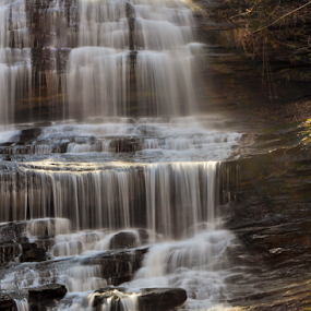 Pearson Falls by Mark Turnau - Nature Up Close Water ( water, waterscape, waterfall, cascades, rocks )