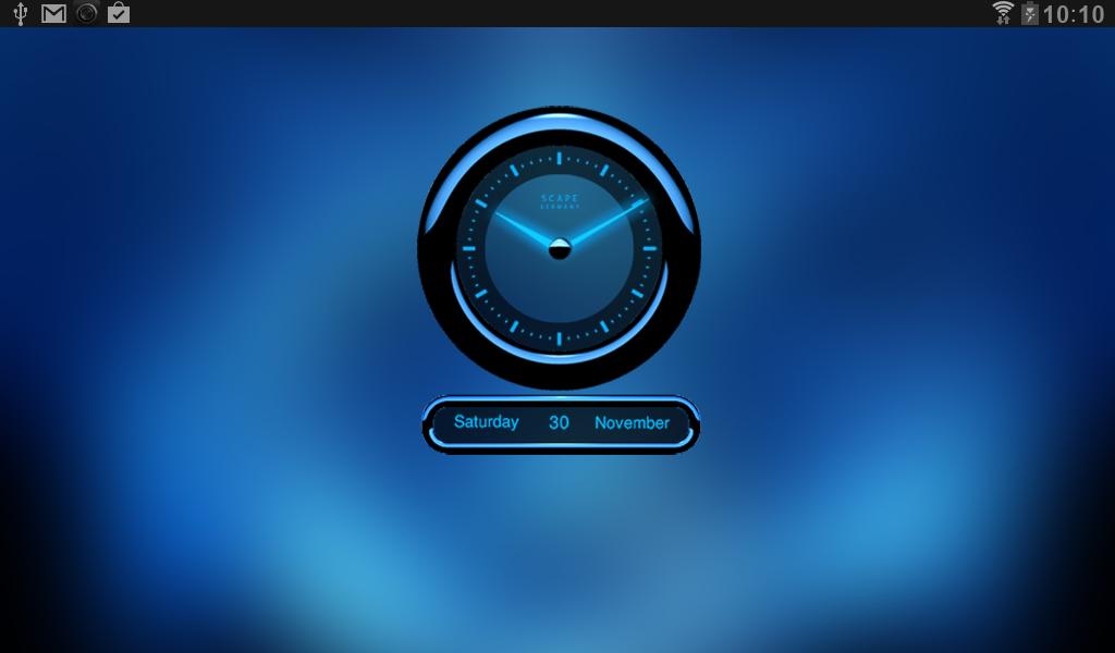 Clock Widget on the App Store