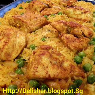Baked Spiced Chicken & Rice