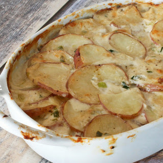 Savory Scalloped Potatoes