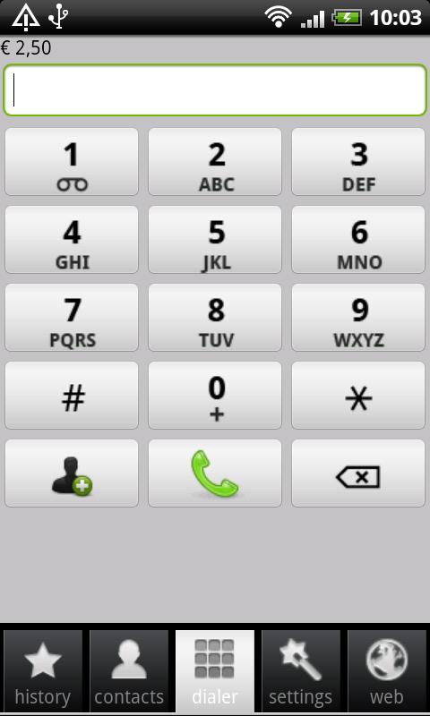 Scydo Free Android Calls - screenshot