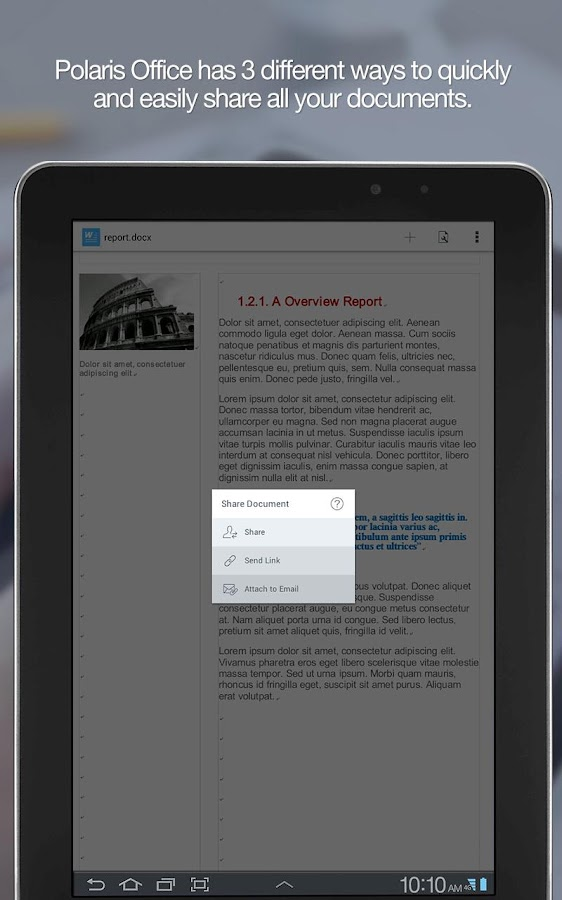 Download Polaris Office + PDF v6.0.10 Full Apk terbaru - screenshot