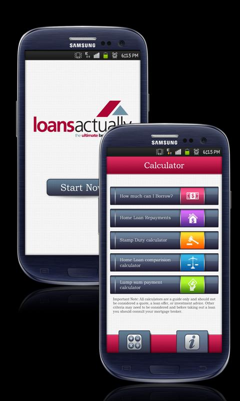 Loans Actually - screenshot