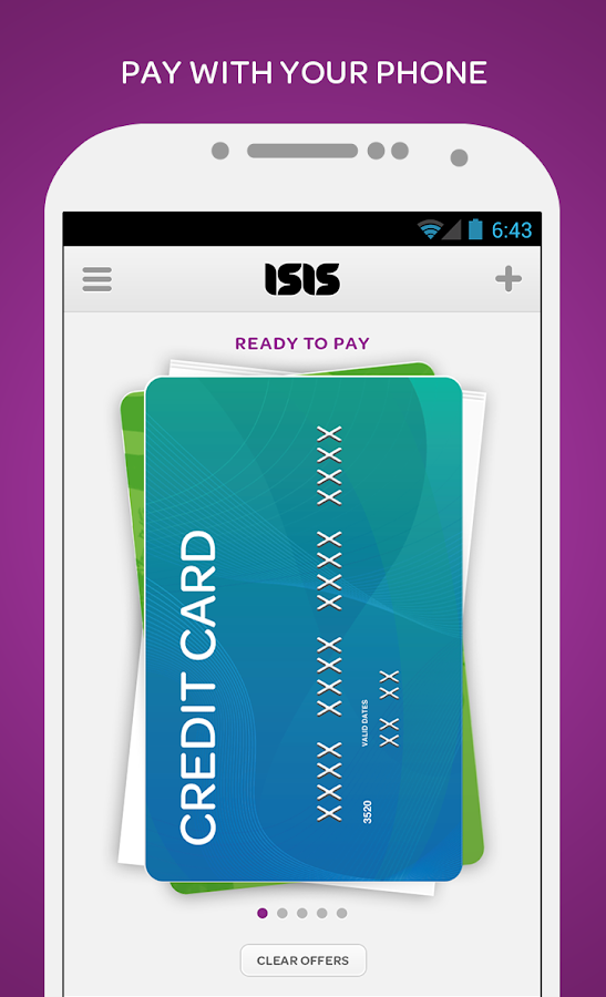 Isis Mobile Wallet - screenshot