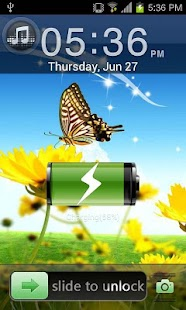 Summer Go Locker EX Theme - screenshot thumbnail