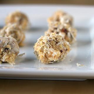 Date, Coconut, Walnut & Marshmallow Truffles