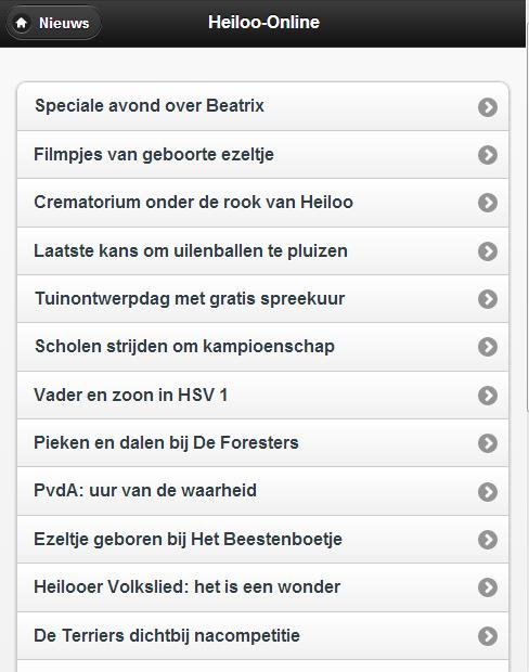 Heiloo-Online- screenshot
