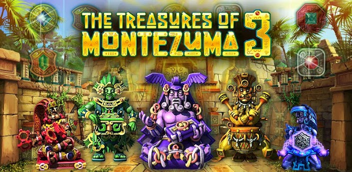 The Treasures of Montezuma 3 (Full apk + data cho Android)
