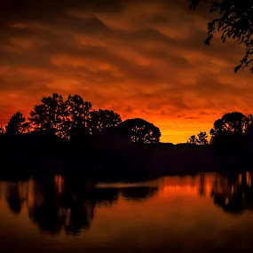 After the Storm by John Finch - Landscapes Sunsets & Sunrises ( cloud formations, nature, sunsets, weather, landscape,  )