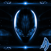 Alien Blue Xperien Theme