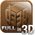D33P ?: 3D photos for Facebook logo