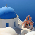Santorini Greece icon