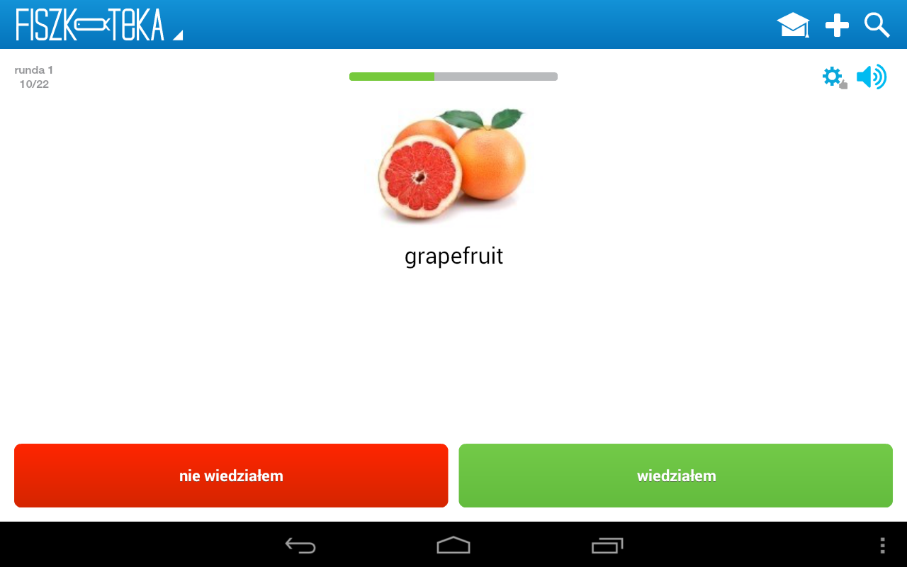 Fiszki - Fiszkoteka® Android - screenshot