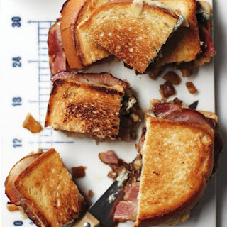 Bacon–Blue Cheese Sandwiches