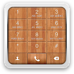 exDialer Lino Wood theme