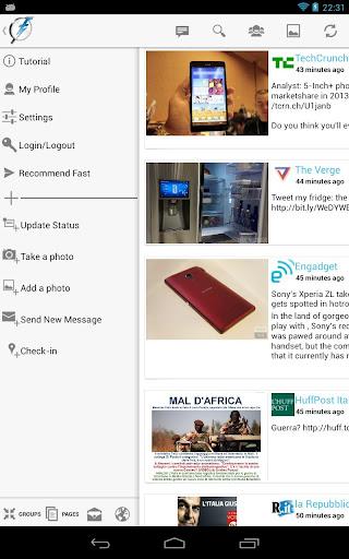 Fast Pro for Facebook v1.9.9.1 Apk full App