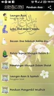 Panduan Menunaikan Solat, Zikir & Doa - náhled