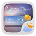Glass View Theme GOWeather icon