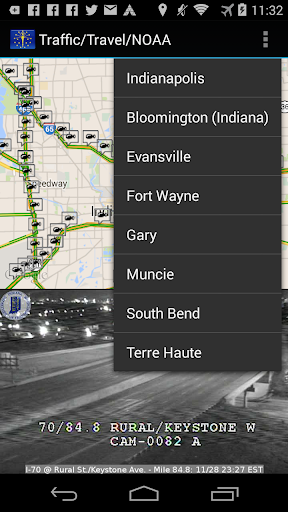 【免費旅遊App】Indiana Traffic Cameras-APP點子