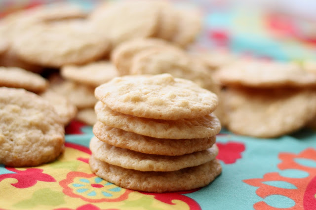 White Chocolate Macadamia Nut Lemon Cookies Recipe