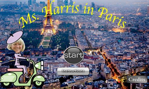 Ms. Harris in Paris