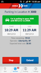 MobileNOW! Parking App for US - screenshot thumbnail