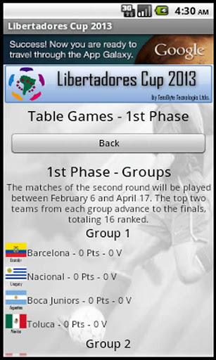 【免費運動App】Libertadores Cup 2013 AdFree-APP點子