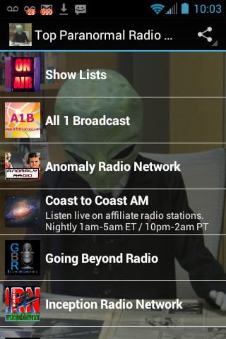 Top Paranormal Radio Pro