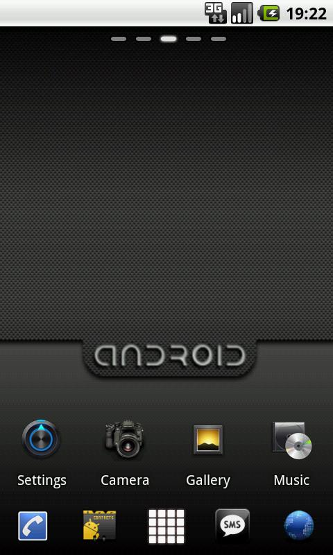 Extreme Theme GO Launcher EX - screenshot