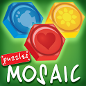 Pixel mosaic by numbers for children icon
