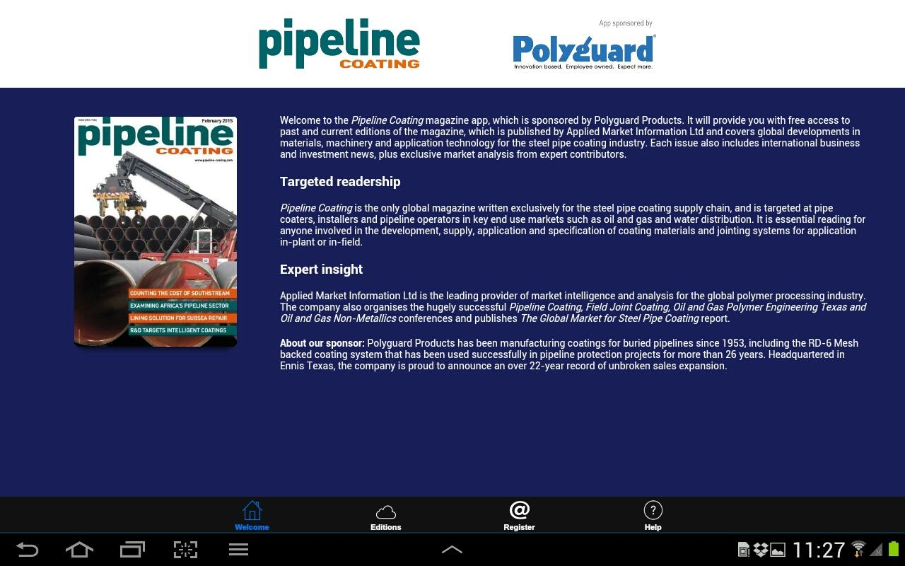 Pipeline Coating- screenshot