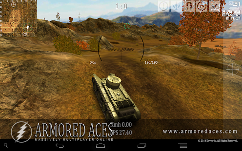 Armored Aces - 3D Tanks Online - screenshot thumbnail