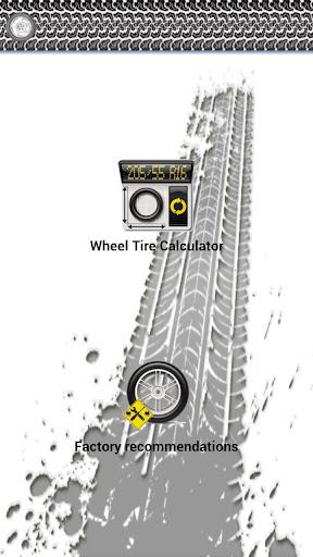 Wheel Tire Calculator