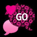 GO SMS THEME/ValentineKiss4U icon