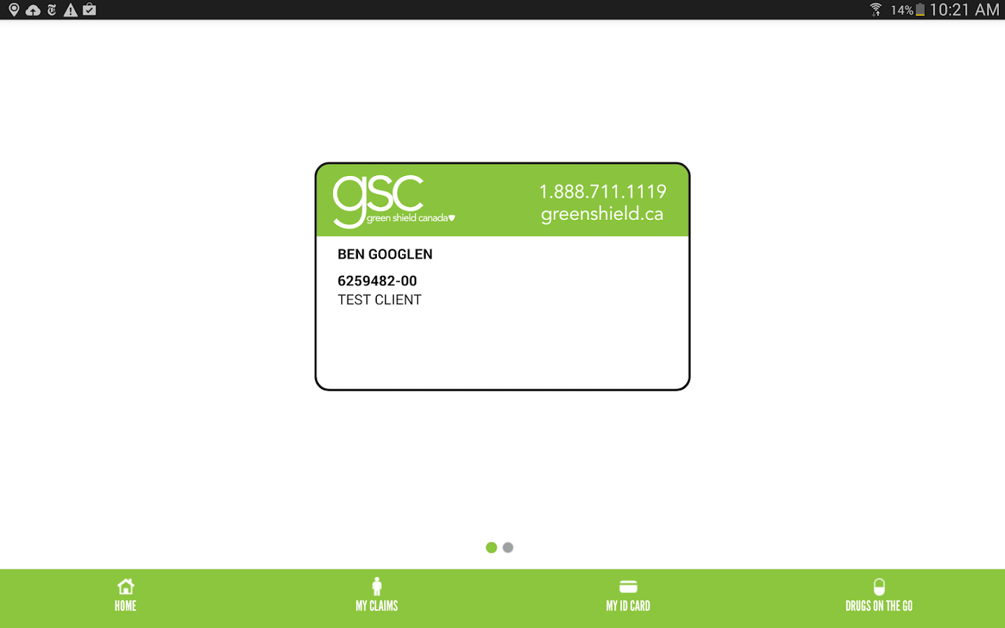 GSC on the Go- screenshot