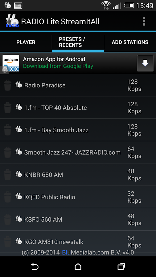RADIO Lite- screenshot