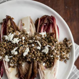 Grilled Endives with Lentils