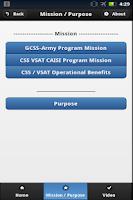 Screenshot of CAISI-VSAT