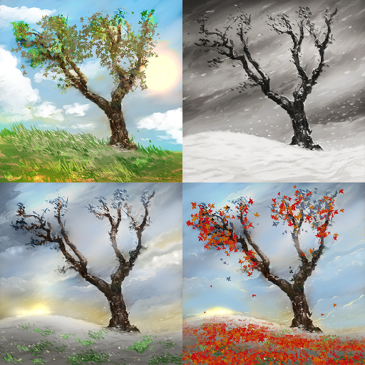 Lonely Tree Live Wallpaper 個人化 App LOGO-APP試玩